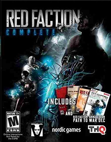 5 NEW PC Red Faction: Complete - 1 / 2 / Guerrilla / Armageddon + Path To (Game Complete Long Box)