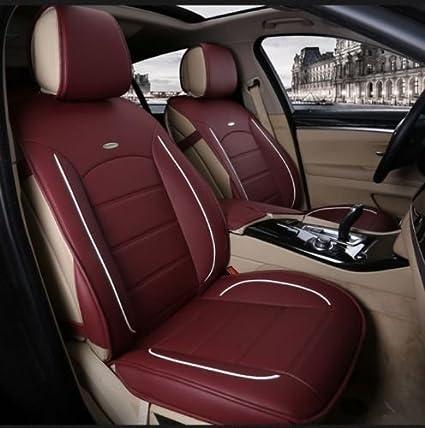Toyota Avensis-Lujo Cuero Acolchado Look cubiertas de asiento de coche-Conjunto Completo