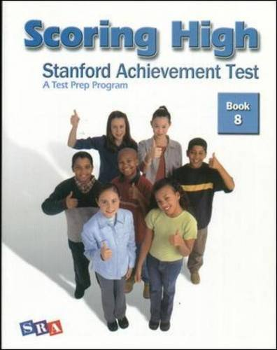 Scoring High: Stanford Achievement Test, Book 8