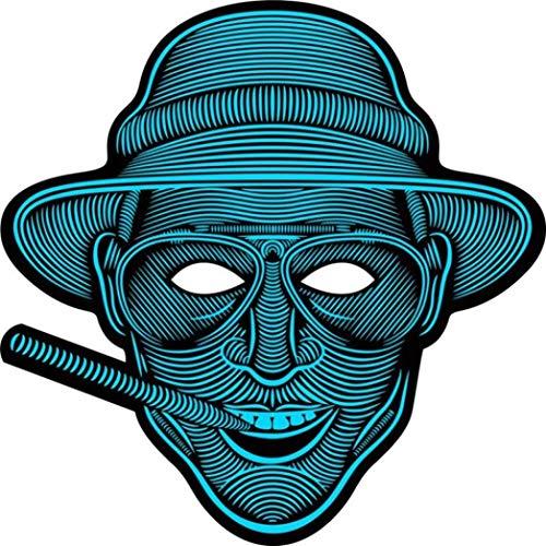 Sagton Scary LED Music Mask Halloween Xmas Party