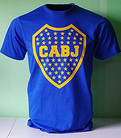 Boca Juniors de Argentina Futbol Soccer Football T Shirt Camiseta Remera
