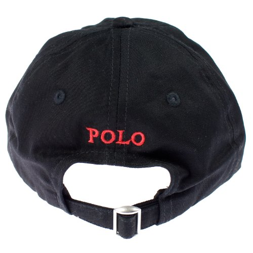 Polo Ralph Lauren Baseball Cap Black   Red Pony Size 8-20 - Buy Online in  KSA. Apparel products in Saudi Arabia. See Prices a65c122ab55