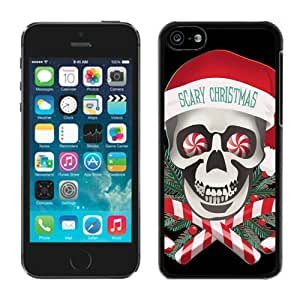 2014 New Style Iphone 5C TPU Case Scary Christmas Black iPhone 5C Case 1