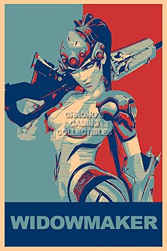 (CGC Huge Poster - Overwatch Widowmaker PS4 XBOX ONE PC - EXT671 (24