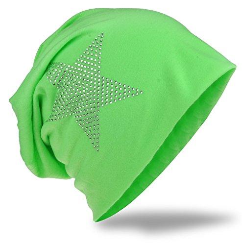 Miobo - Gorro de Punto - para Hombre verde claro