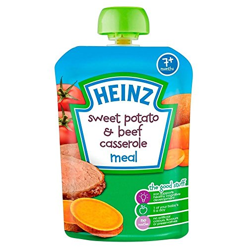 Heinz Mashed Sweet Potato & Beef Casserole 7mth+ ()