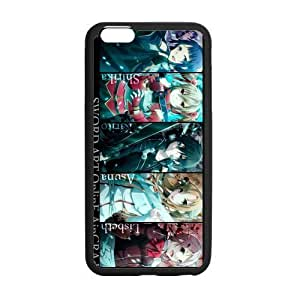 Customize TPU Gel Skin Case Cover for iphone 6+, iphone 6 plus Cover (5.5 inch), Sword Art Online