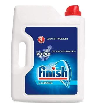 Finish Detergente Lavavajillas Polvo - 3,75 kg: Amazon.es ...