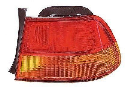 Honda Civic 2 Door Tail (96 97 98 Honda Civic 2 Door Coupe Only Passenger Taillamp Taillight 1996 1997 1998)