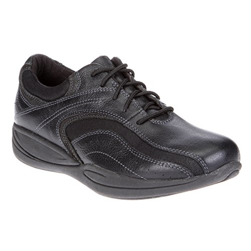 Xelero Madera Women's Comfort Therapeutic Extra Depth Casual Shoe: Black 8.5 Wide (D) Lace by Xelero (Image #1)