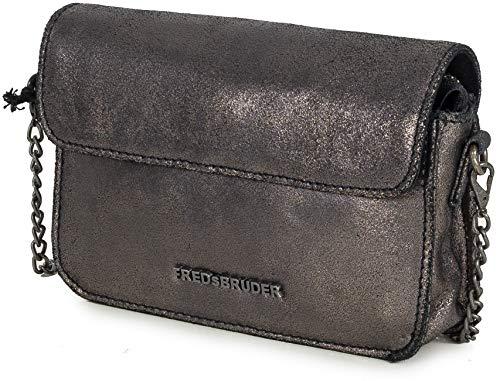 Mini Cuir 17 Metallic Fredsbruder Cm Brown Bag UwadPPq4f