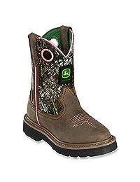 John Deere JD2198 Pull On Boot (Little Kid)
