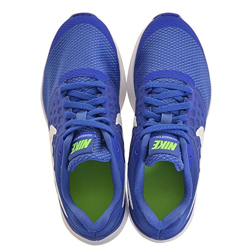 NIKE Boy's Downshifter 7 (GS) Running Shoe Mega Blue/White-green Strike-racer Blue cheap sale get to buy 4CwXJEqOyo