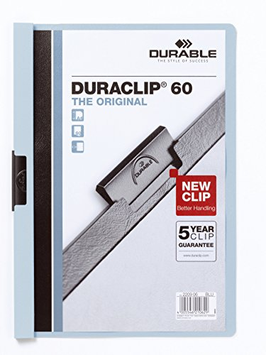 Durable D220906 Pvc Blue Report Cover - Report Covers (Blue, Pvc, A4, 219 Mm, 310 Mm)