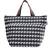 """SODIAL(R) Women's Insulated Lunch Tote Bag ~ 12.5""""x8.5""""x5"""" (3 Designs)"""