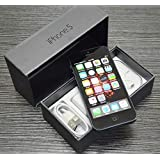 Original AppleiPhone Compatible Mobile Apple iPhone 5 16GB 32GB 64GB White Black (Black, 16GB)