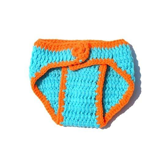 Newborn Baby Soft Handmade Crochet Knit Cotton Costume Puppy Photography Prop