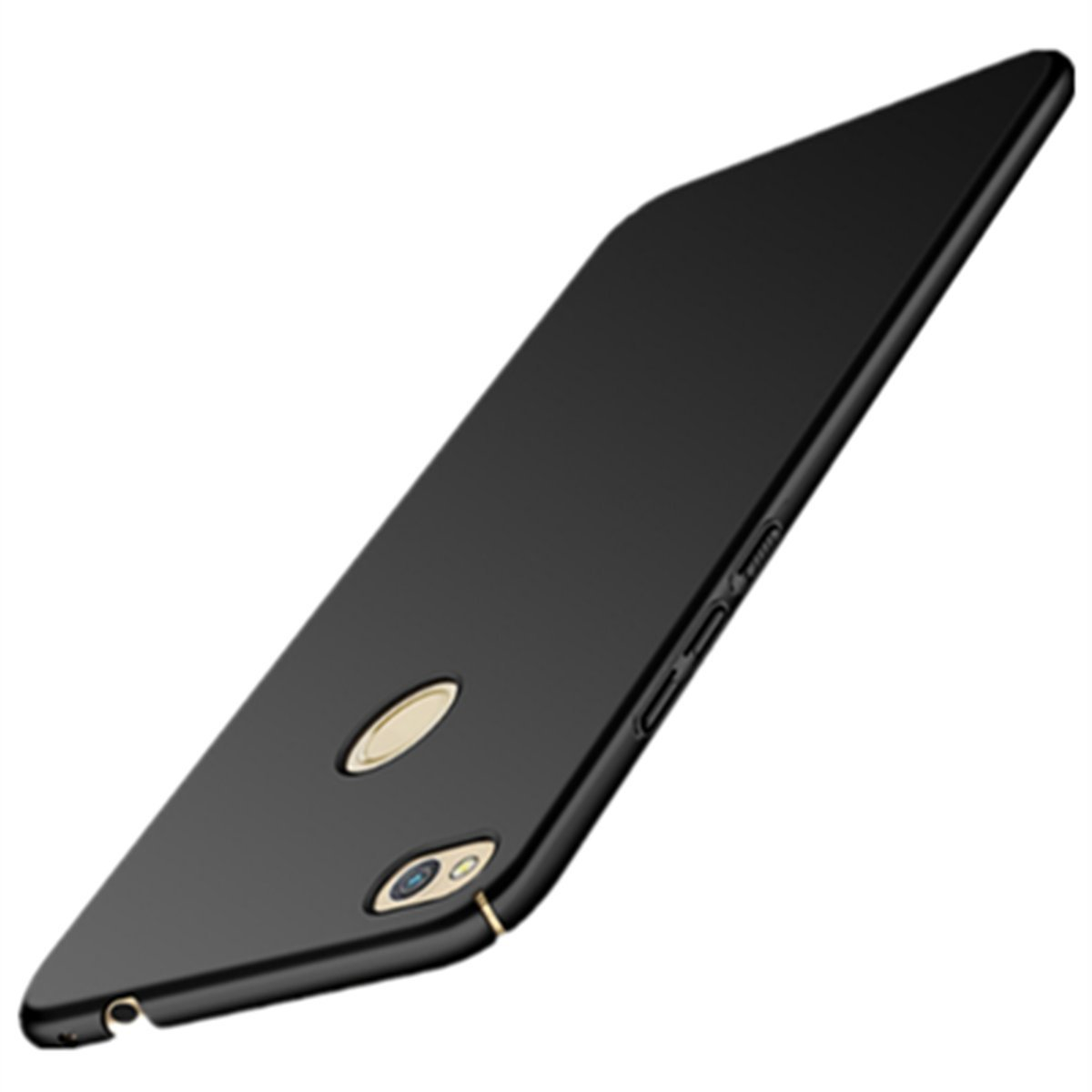 Vanki Custodia per Huawei P8 Lite 2017, Ultra sottile Dura PC Ultra Sottile Placcatura Anti-Scratch Protettiva Bumper Cover Case per Huawei P8 lite 2017 argento) VITLM-MSXK03
