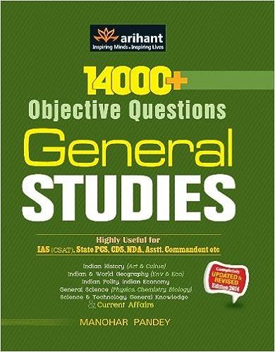 14000 + Objective Questions - General Studies 1st Edition price comparison at Flipkart, Amazon, Crossword, Uread, Bookadda, Landmark, Homeshop18