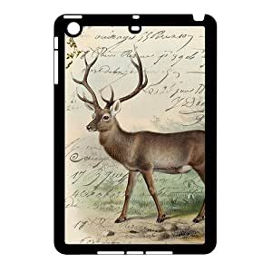 iPad Mini (iPad mini 2) Case,Cute Deer High Definition Artistic Design Cover With Hign Quality Hard Plastic Protection Case