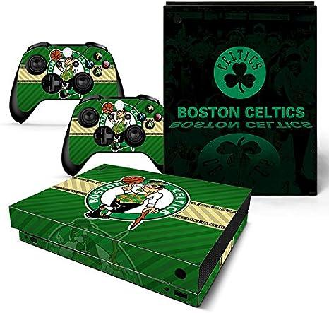FriendlyTomato Xbox One X Consola y mando inalámbrico Skin Set – Baloncesto NBA – XboxOne X XOX calcomanía de vinilo: Amazon.es: Videojuegos