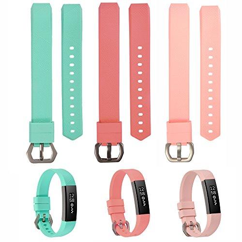WISHTA Colorful Replacement Wristband tracker