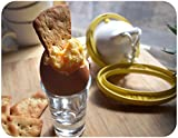 The Original Golden Goose Scrambled Egg Maker, Scramble Eggs Inside the Shell, Make Golden Hard Boiled Eggs, Soft Boiled Eggs, Deviled Eggs, Fun Egg Recipes and Gift Idea