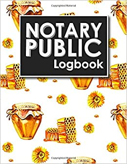 Notary Public Logbook Notary Journal Notary Public Log Book