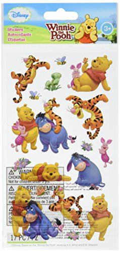 Disney Stickers For Scrapbooking - Disney Winnie the Pooh and Friends Sticker