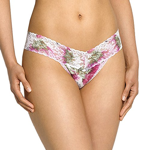 (Hanky Panky Low Rise Thong in Prints (Wild Thistle) )