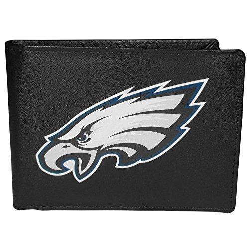 Siskiyou NFL Philadelphia Eagles Bi-Fold Wallet Logo, Large, Black ()