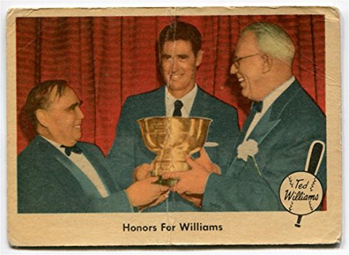 Fleer 1959 Ted Williams Honors for Williams Card #78 Boston Red Sox