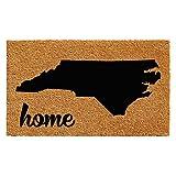 "Calloway Mills 102921830 North Carolina Doormat, 18"" x 30"", Natural/Black"