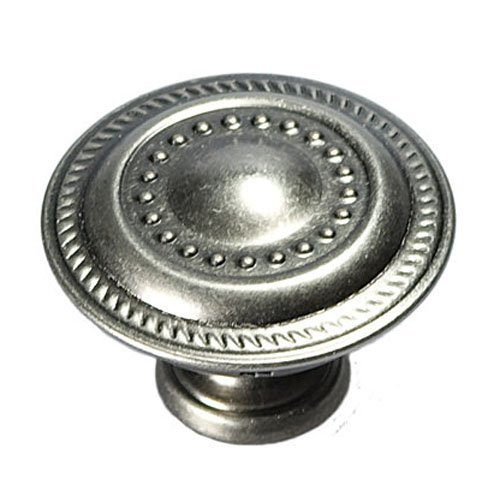 Hickory Hardware P8196-ST 1-1/4-Inch Manor House Cabinet Knob, Silver Stone (Hardware Hickory Manor House)