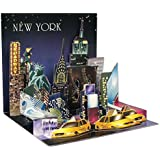 Popshots 3D Pop Up Treasures Greeting Card New York