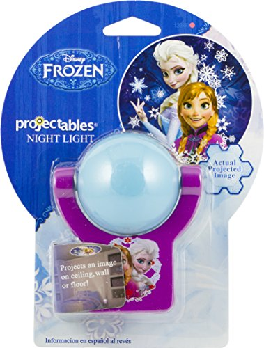 Projectables 13340 Frozen Led Plug In Night Light Blue