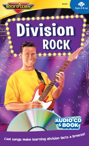 Division Rock Audio CD and Book by Rock 'N Learn