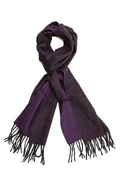 Wool Angora Scarf ALLAA 18751: Purple