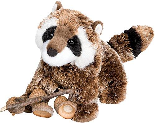 (Cuddle Toys 4034 20 cm Long Patch Raccoon Plush Toy)