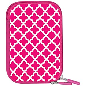 Macbeth Collection Weather-Resistant Neoprene Body Camera Case, Pink Ava MB-NC2EP by Macbeth Collection