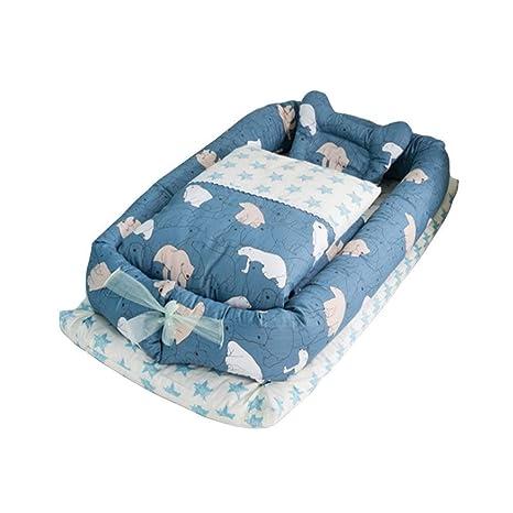 Cuna parachoques 100% algodón orgánico/lavable - recién nacido 0-36 meses Saco