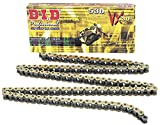 D.I.D 530VXGB-150 Gold 150-Link High Performance X-Ring Chain with Connecting Link