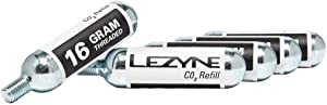 Lezyne Threaded CO2 Cartridge for Quick and Easy Road & Mountain Bike Tire Inflation