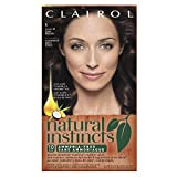 natural instincts hair color 6 - Clairol Natural Instincts, 4/28 Nutmeg Dark Brown, Semi-Permanent Hair Color, 1 Kit