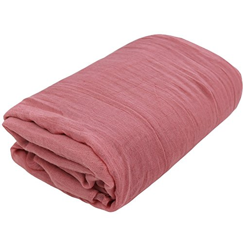 FEESHOW Newborn Baby Cheesecloth Wrap Cloth Blanket Photography Photo Props Pink One size