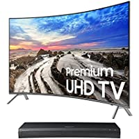 Samsung UN65MU8500 65 Curved 4K UHD Smart TV with UBD-M9500 4K Ultra HD Blu-ray Player