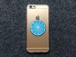 iPhone 6Plus funda, iPhone 6Plus (5,5) caso delgado suave TPU funda para teléfono casos estampado Floral impresión con verano frutas frescas diseño funda de teléfono celular (hermoso sueño frutas patrón) (color 11)