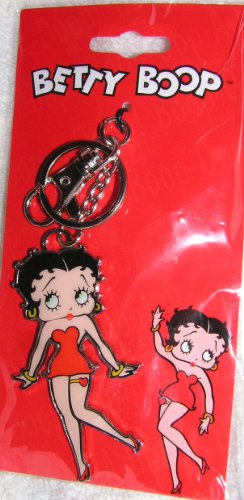 Betty Boop in Red Dress Attachable ()