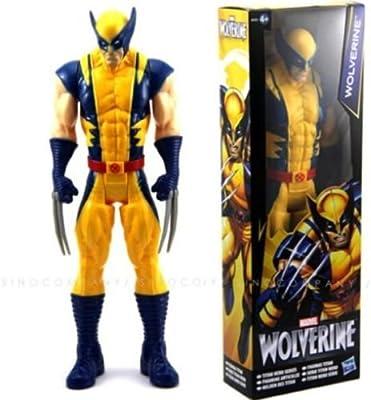 "Wolverine X-Men Action Figure Toy The AVENGERS Marvel Titan Hero 12/"" Toy Gift"