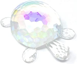 Oleg Cassini #3910 Turtle Iridescent Collectible Paperweight
